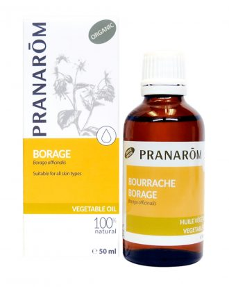 Borage Vegetable Oil on Skin, Vegetable Oil Skin Care
