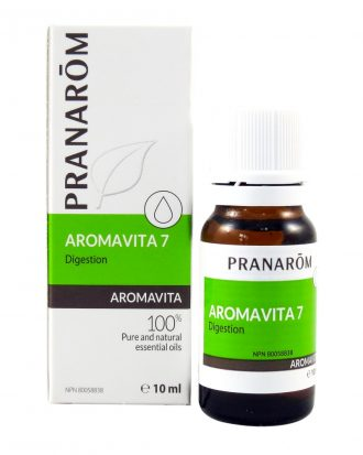 Pranarōm AROMAVITA Digestion Essential Oil Blend, Best Essential Oil for Nausea
