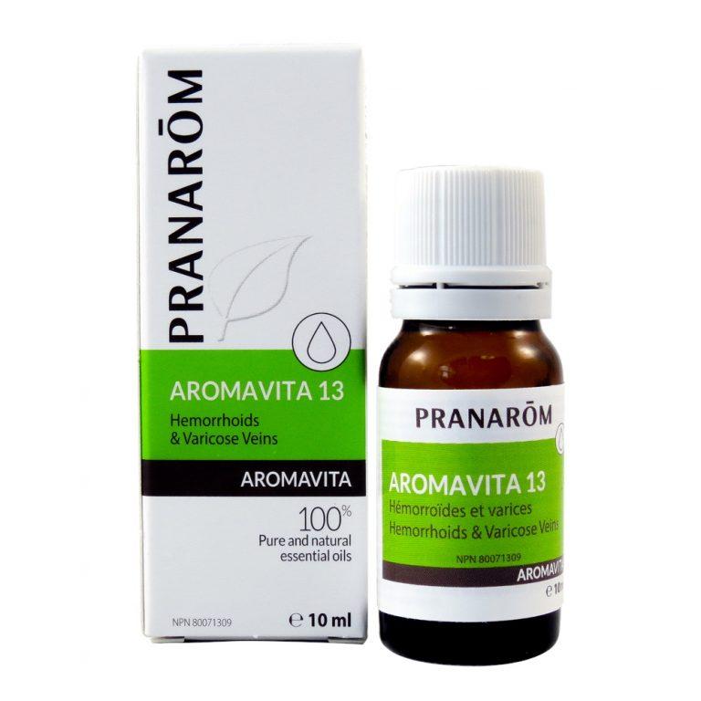 Pranarōm AROMAVITA Hemorrhoids and Varicose Veins Chemotyped Essential Oil Blend