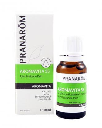Pranarōm AROMAVITA Joint and Muscle Pain Essential Oil Blend