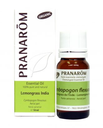Lemongrass India Chemotyped Essential Oil