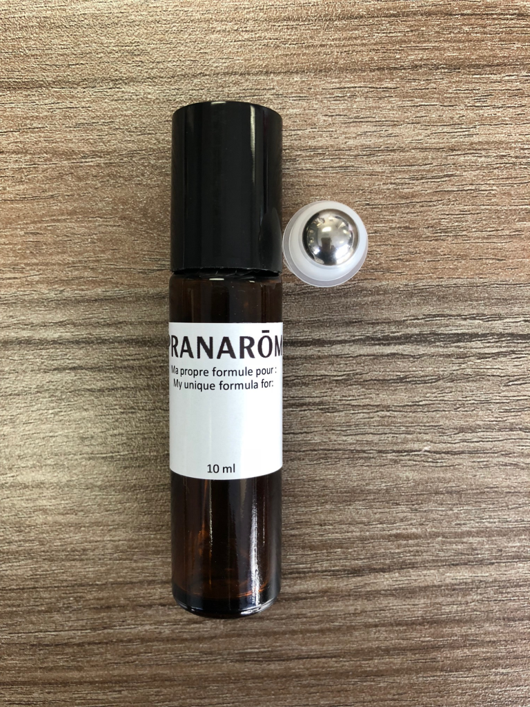 Essential Oil Roller, Amber Glass Essential Oil Roll-On Bottle