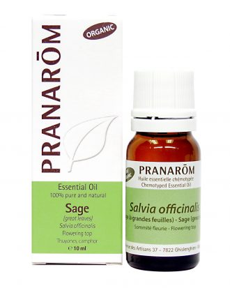 Sage (Great leaves) Chemotyped Essential Oil