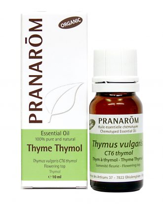 Thyme Thymol Chemotyped Essential Oil